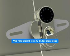 FINGERPRINT LOCK FOR GLASS DOORS