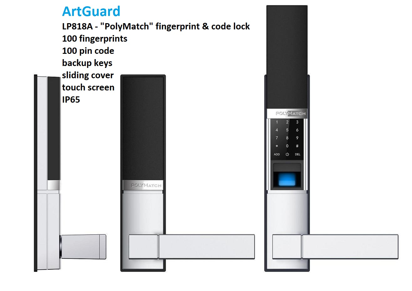 Fingerprint lock LP818
