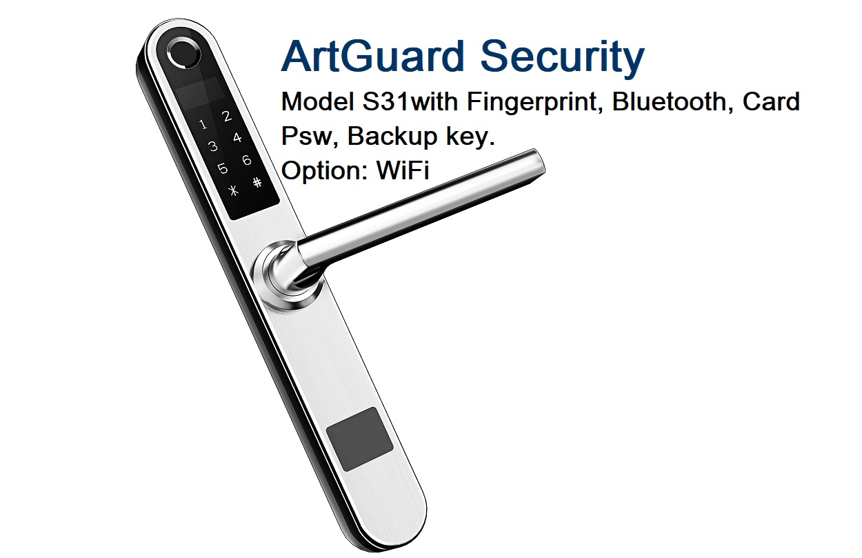 Fingerprint lock S31+PIN+BLE+WiFi